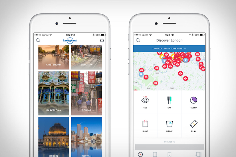 Guide en poche, la nouvelle Guides Lonely Planet App