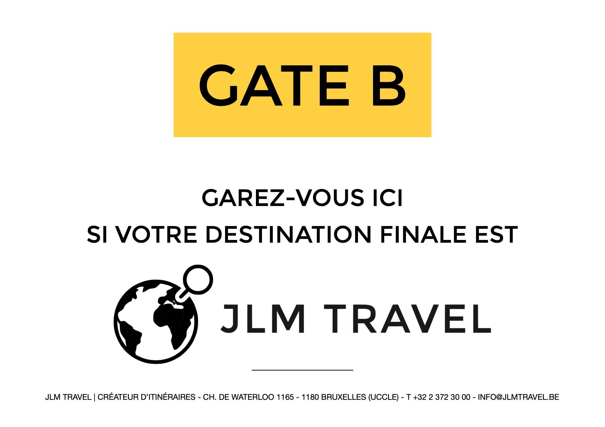 Le terminal JLM Travel