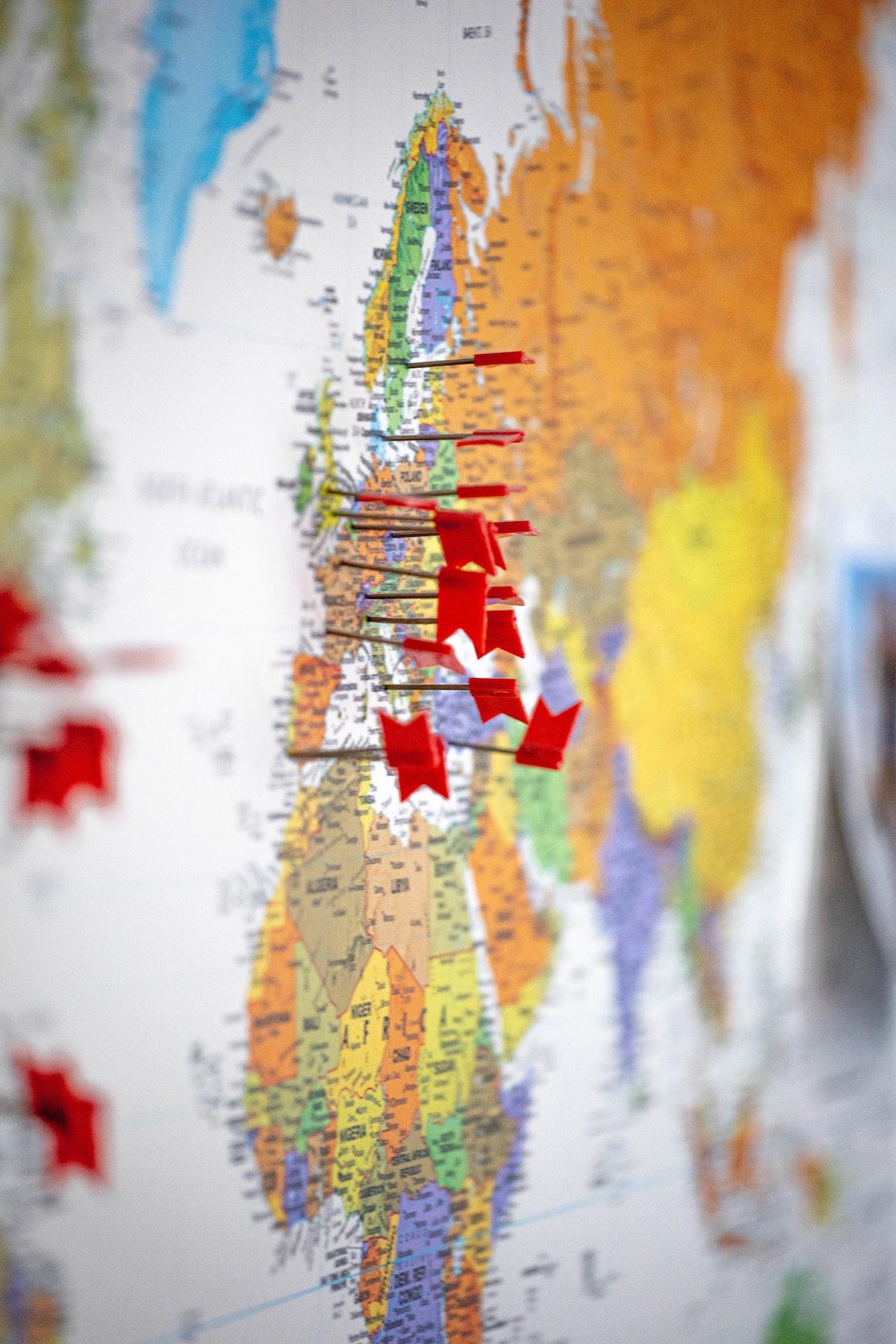 Une idée séduisante : voyager en Europe ?