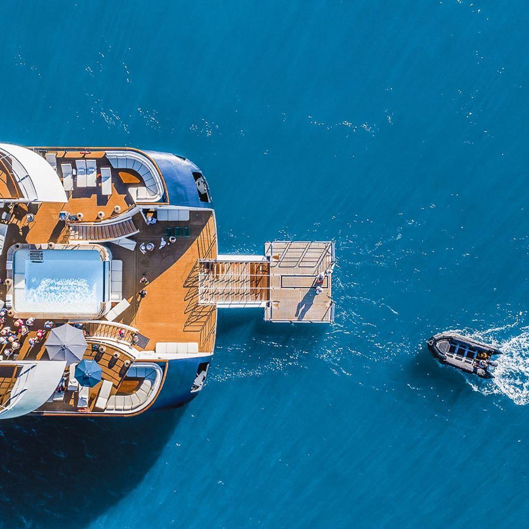 Elégance décontractée, une flotte exceptionnelle: le raffinement des croisières Ponant